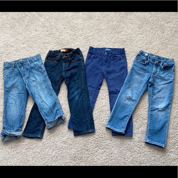 4T Mickey Mouse High Stretch Slim Jeans Nwt Baby Gap Boys 4